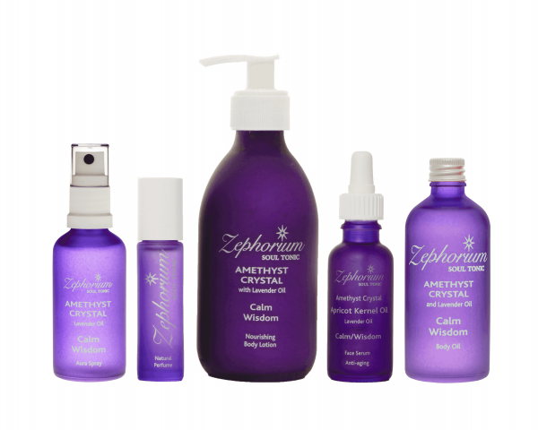 Zephorium Amethyst Crystal Products by New Vistas Healthcare