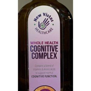 bottle of Whole Health Cognitive Complex