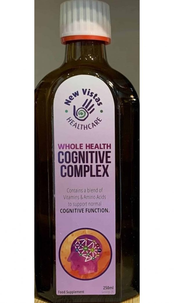 bottle of Whole Health Cognitive Complex